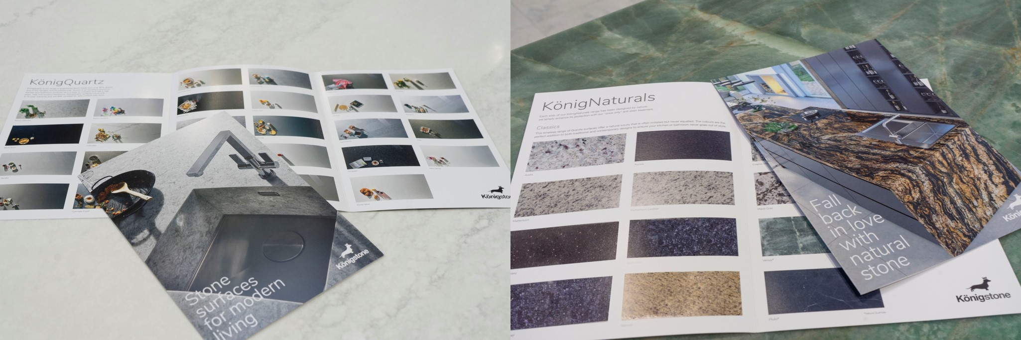 Königstone launches new brochures